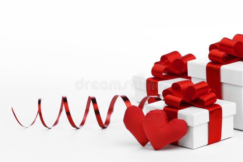 Miłość prezenty zdjęcia stock