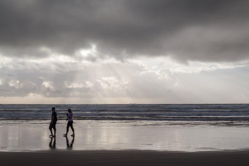 Miłość przy morzem obrazy stock
