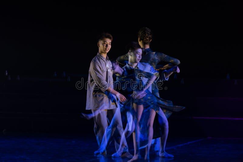 Miłość rozdziela 3--Tana dramata osioł dostaje wodnym zdjęcie stock