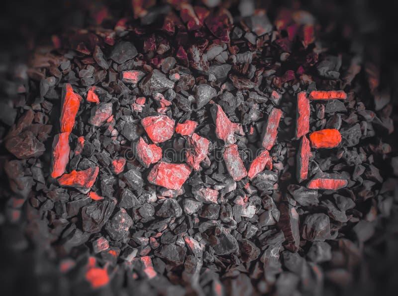 Miłość skały zdjęcia royalty free