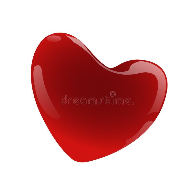 Miłość symbol dla żywego ilustracji