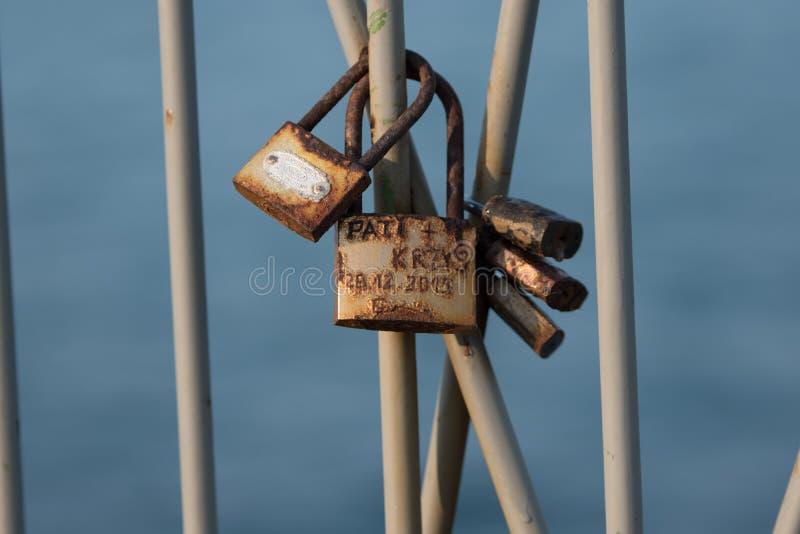 Miłość szafki zdjęcia royalty free