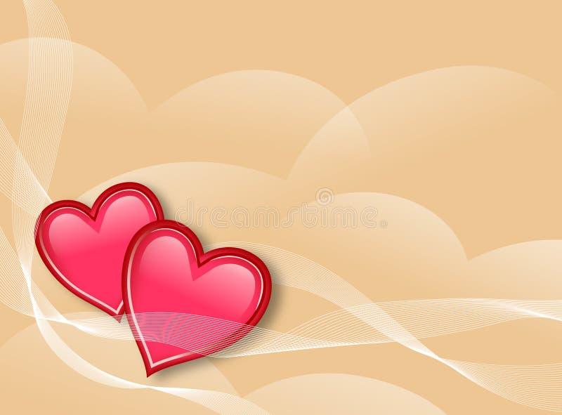 miłość tło ilustracja wektor