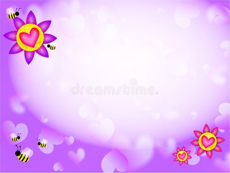 miłość tło royalty ilustracja
