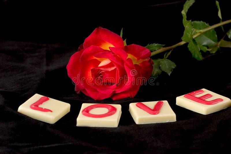 miłość to walentynki obraz stock