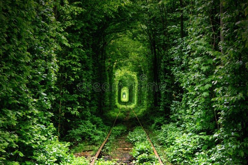 MIŁOŚĆ tunel obrazy royalty free