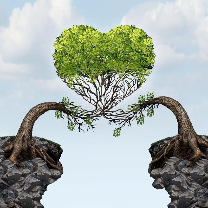 Miłość związek ilustracji