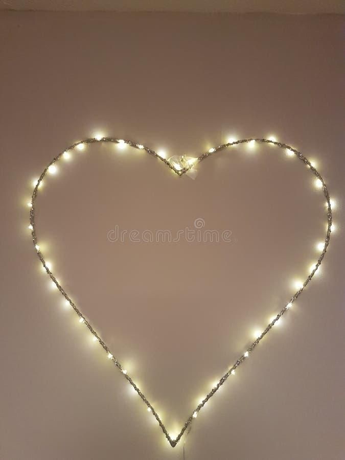 miłości światło fotografia stock