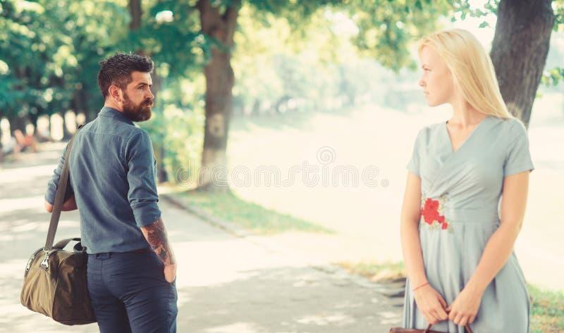 Miłości celowniczy pojęcie najpierw Przypadkowy spotkanie, spotkanie fotografia stock