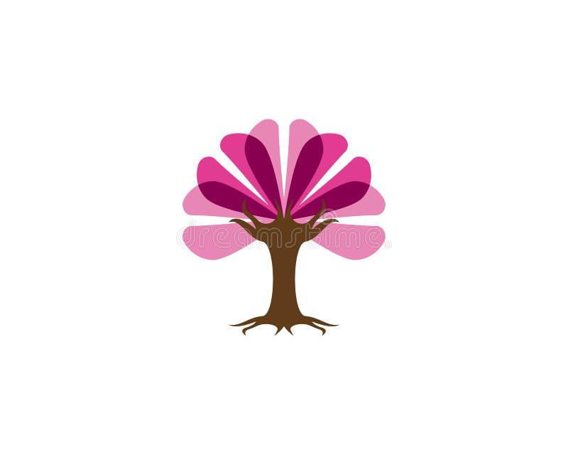 Miłości drzewa ikony wektoru ilustracja royalty ilustracja