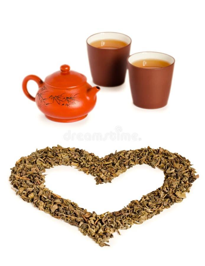 miłości herbata obrazy royalty free