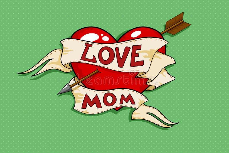 Miłości mama ilustracja wektor