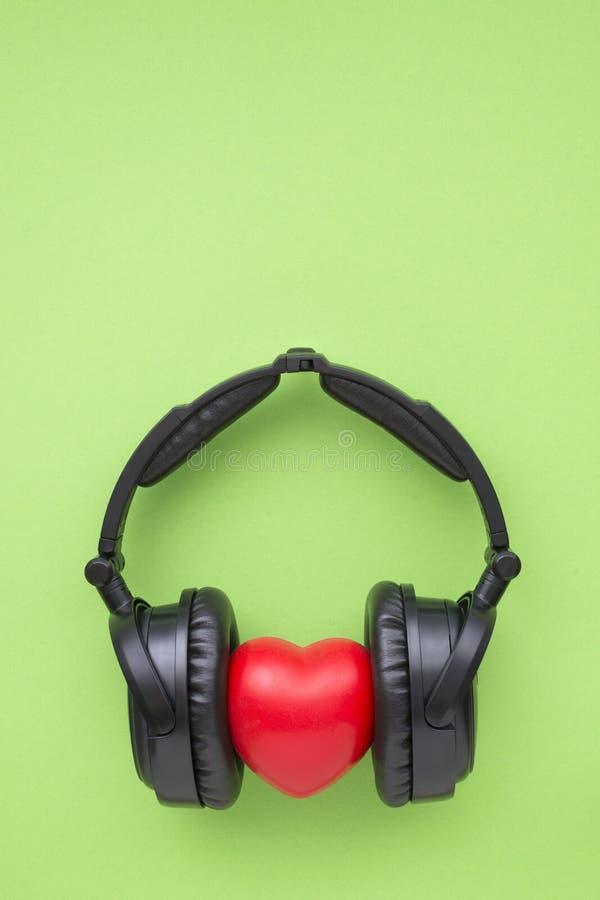 Miłości muzyki zieleń obraz royalty free