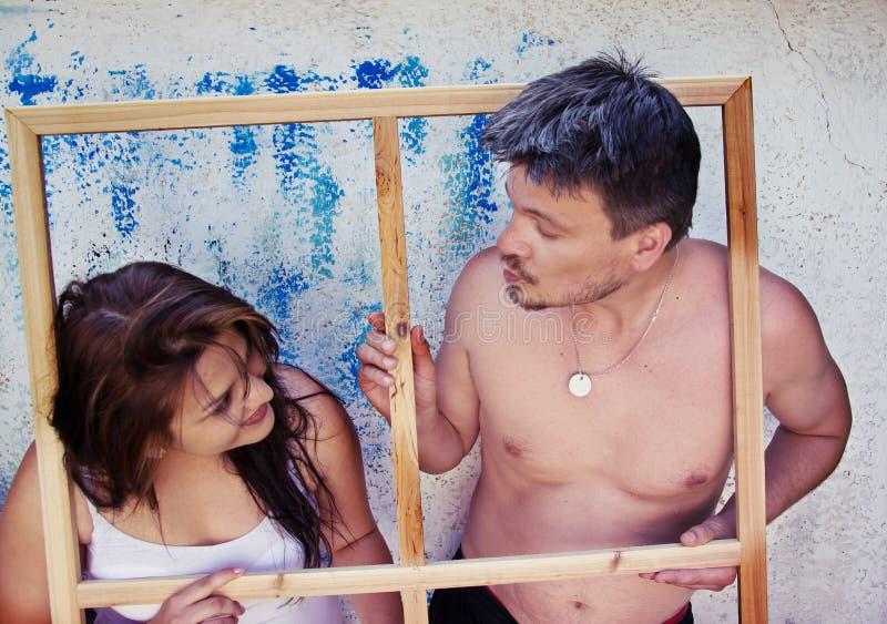Download Miłości para Ma zabawę zdjęcie stock. Obraz złożonej z coś - 57652818