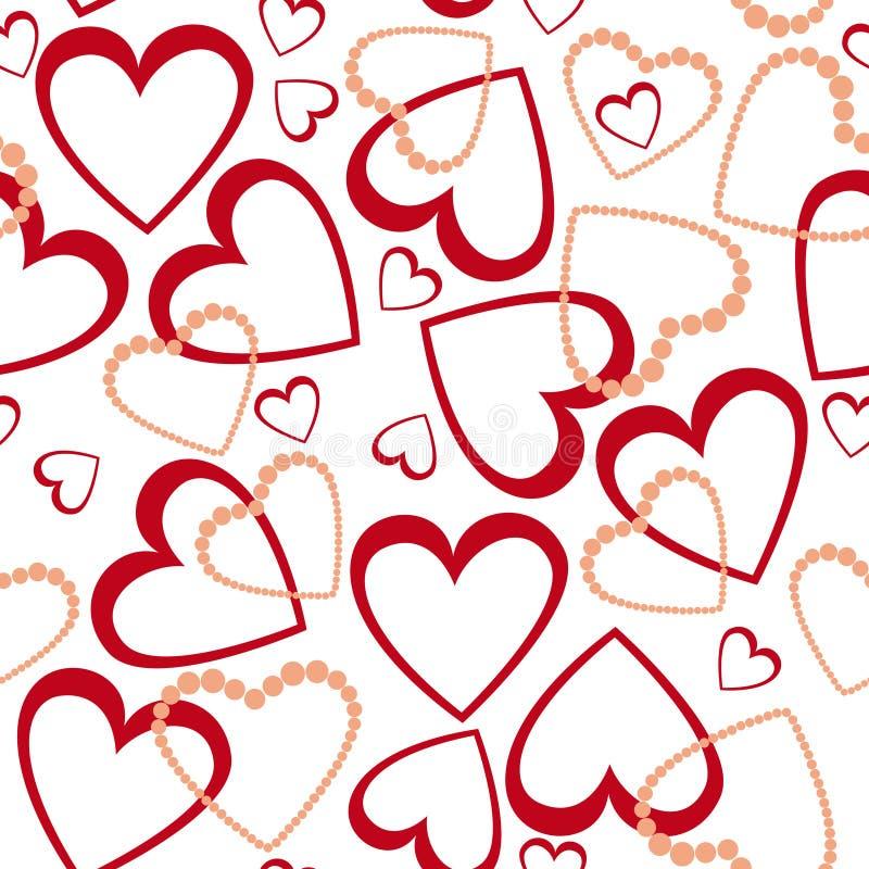 Miłości projekta wzór royalty ilustracja