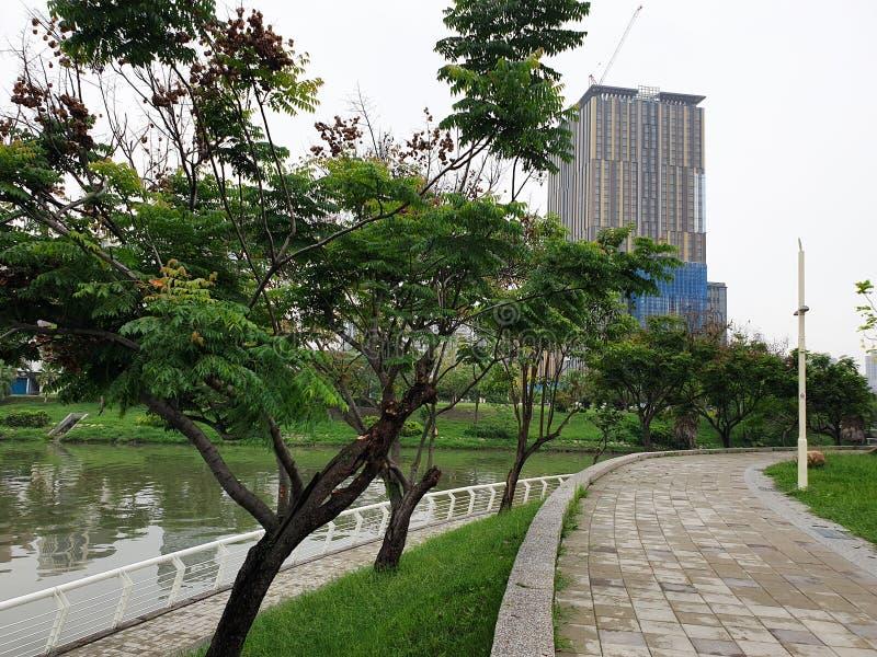 Miłości rzeka w Kaohsiung, Taiwan obraz stock