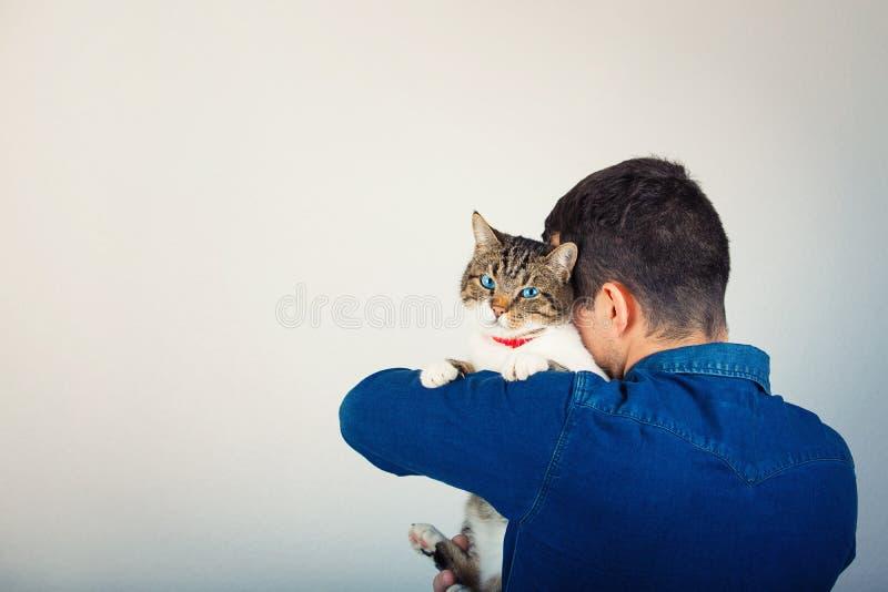 Miłości zwierzę domowe fotografia stock