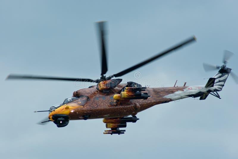 Mi-24 lizenzfreies stockfoto
