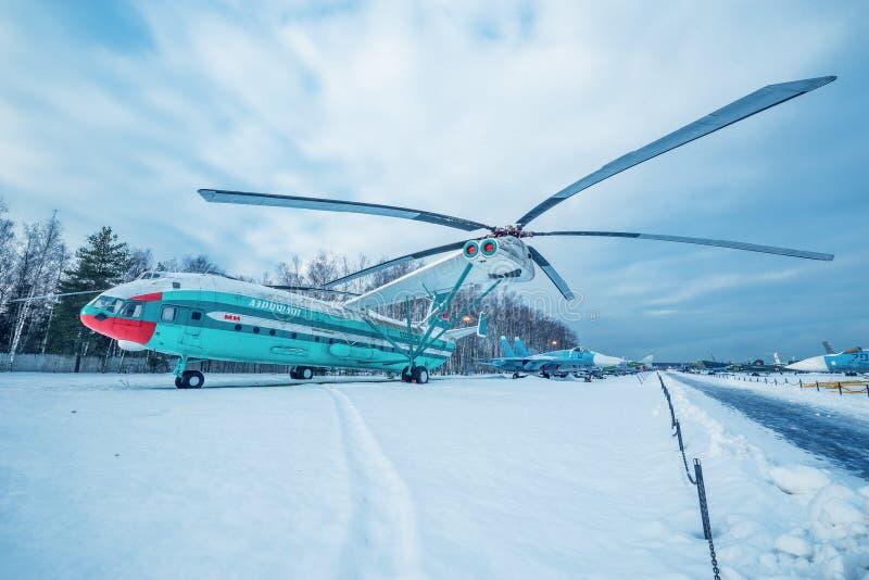 MI-12 - Ciężki przewieziony helikopter fotografia stock