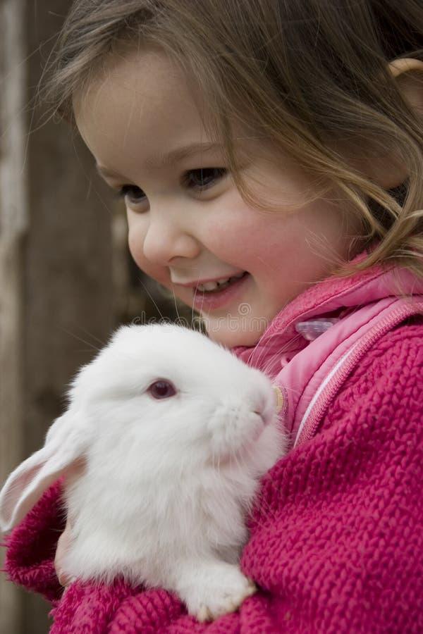Mi conejo encantador fotos de archivo