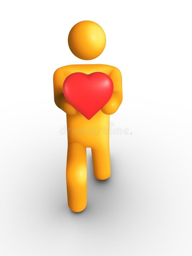 Mi corazón libre illustration