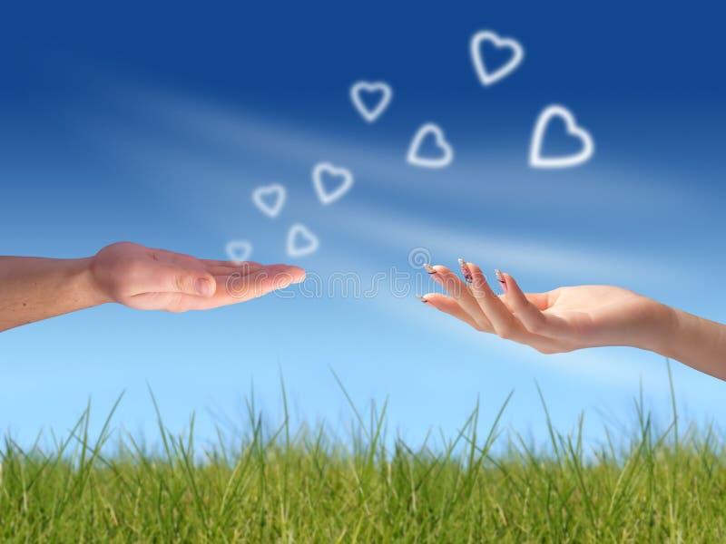 Mi corazón a usted fotografía de archivo libre de regalías