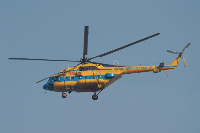 Mi-17 da força aérea dos povos de Vietname foto de stock