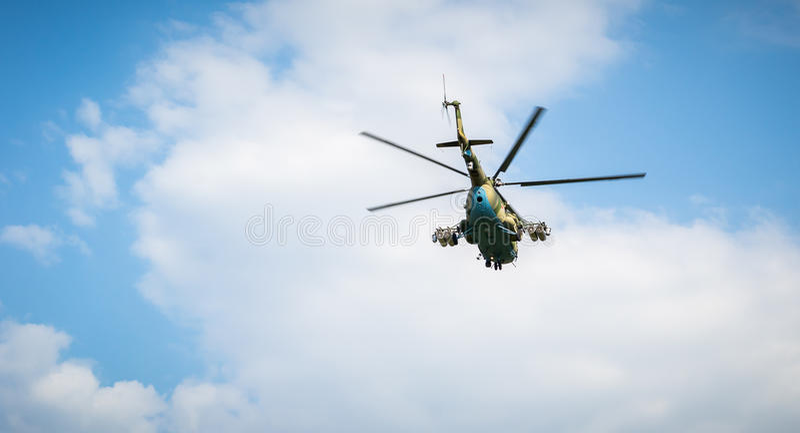Mi-24, ein Monument stockbild
