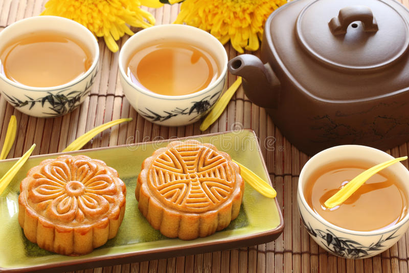 Mi festival chinois d'automne photo stock