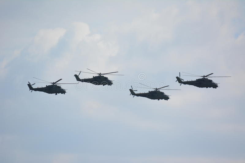 Mi-24 royalty free stock image