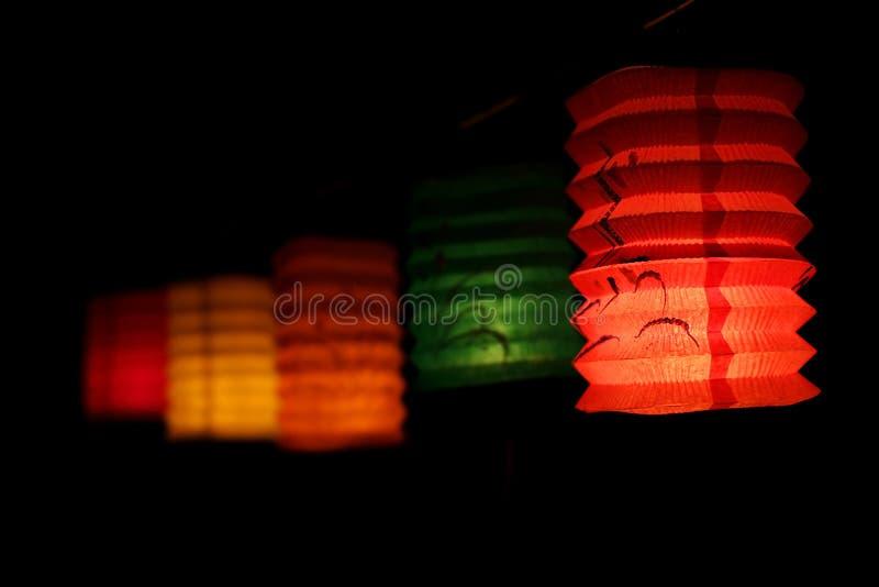 Mi lanterne chinoise de festival d'automne image libre de droits