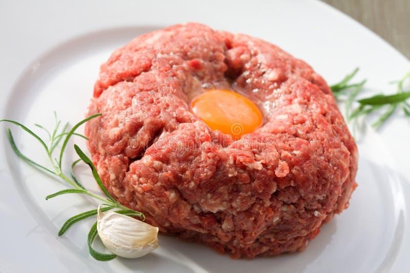 Download Mięso minced zdjęcie stock. Obraz złożonej z składnik - 13338988