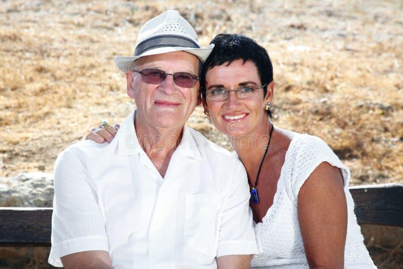 Mi papá e I fotografía de archivo
