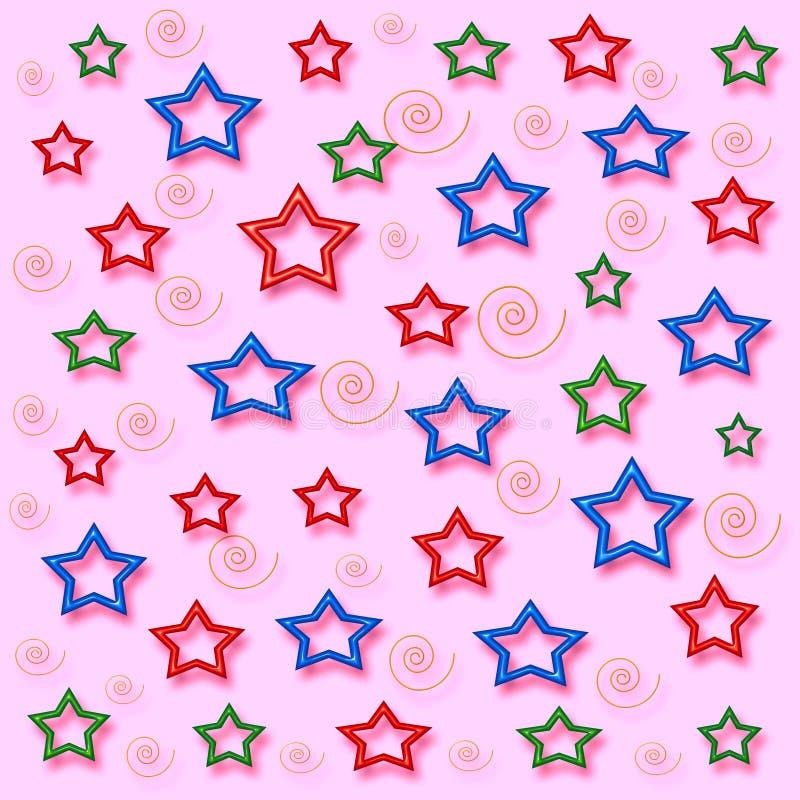 Mi papel del regalo de las estrellas imágenes de archivo libres de regalías