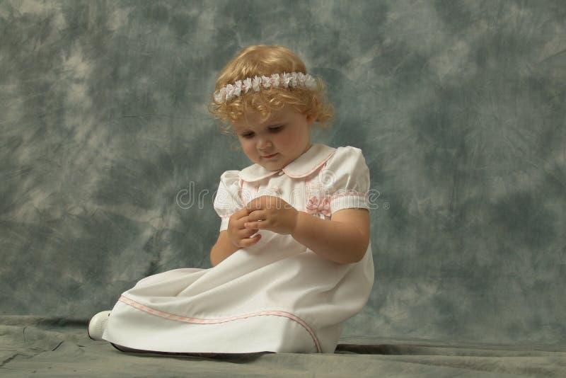 Mi pequeña hija fotografía de archivo