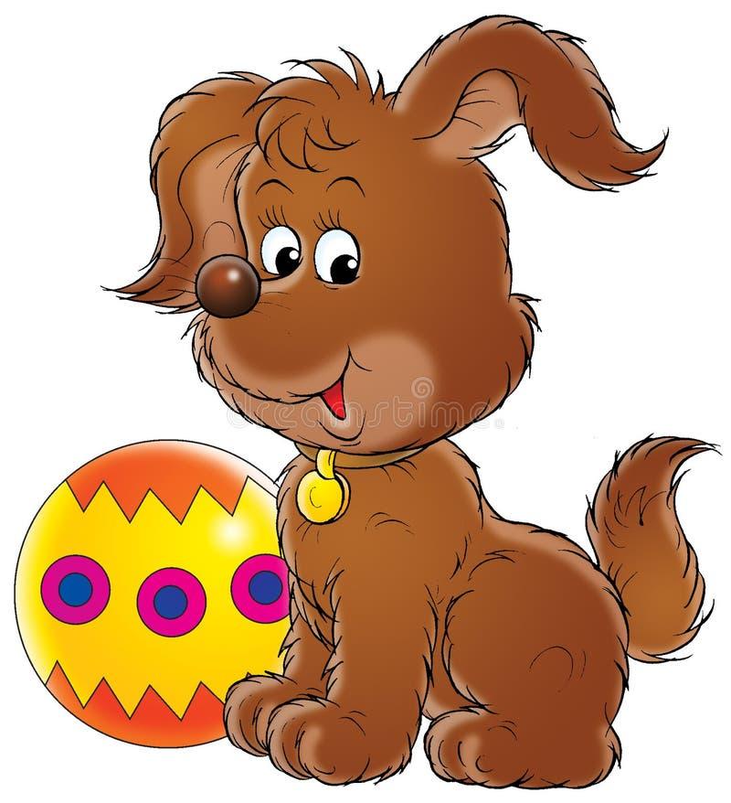 Mi perro 024 ilustración del vector