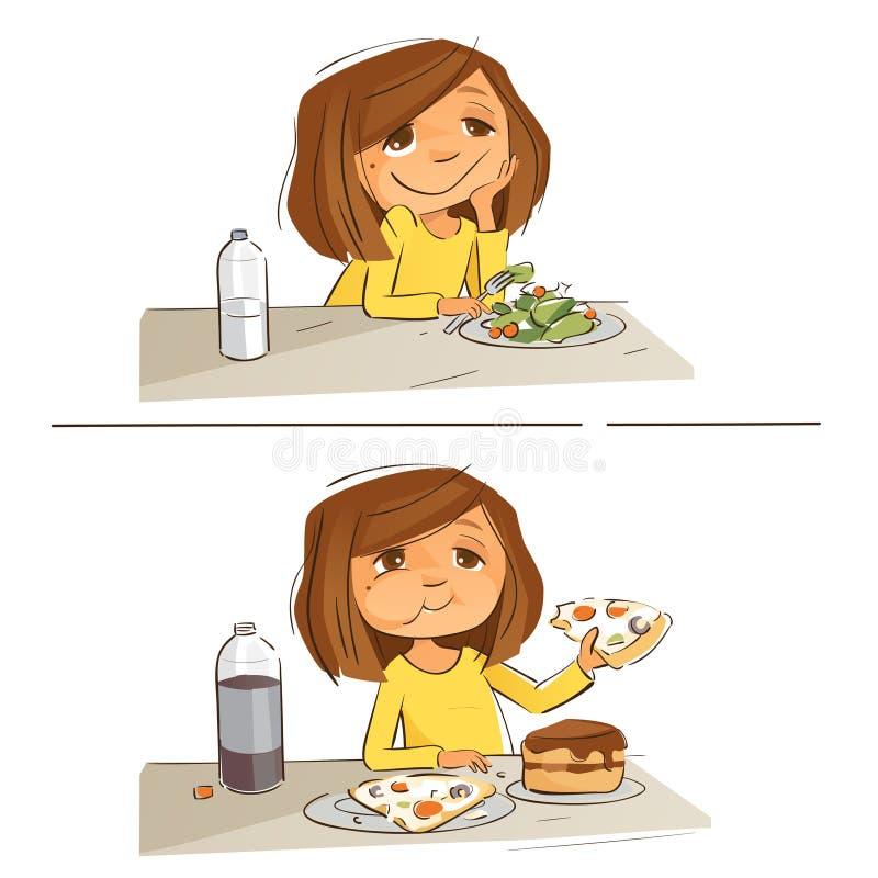Mi plan de la dieta fotografía de archivo libre de regalías