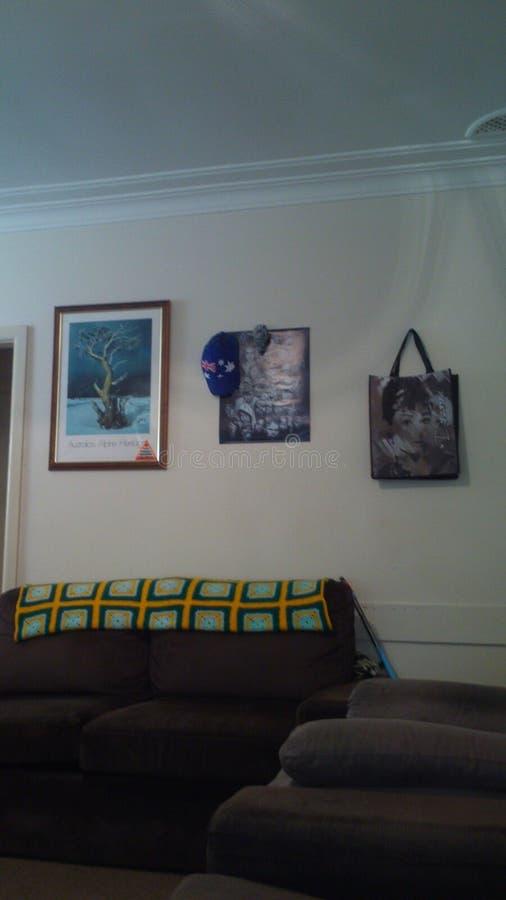 Mi socio n mi sitio del salón foto de archivo libre de regalías