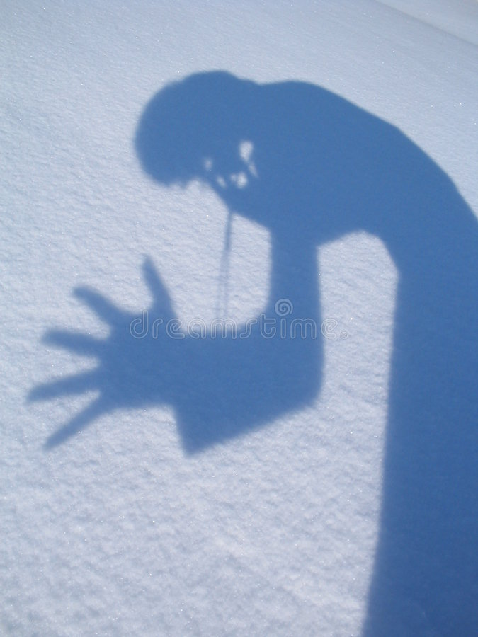 Mi sombra fotos de archivo