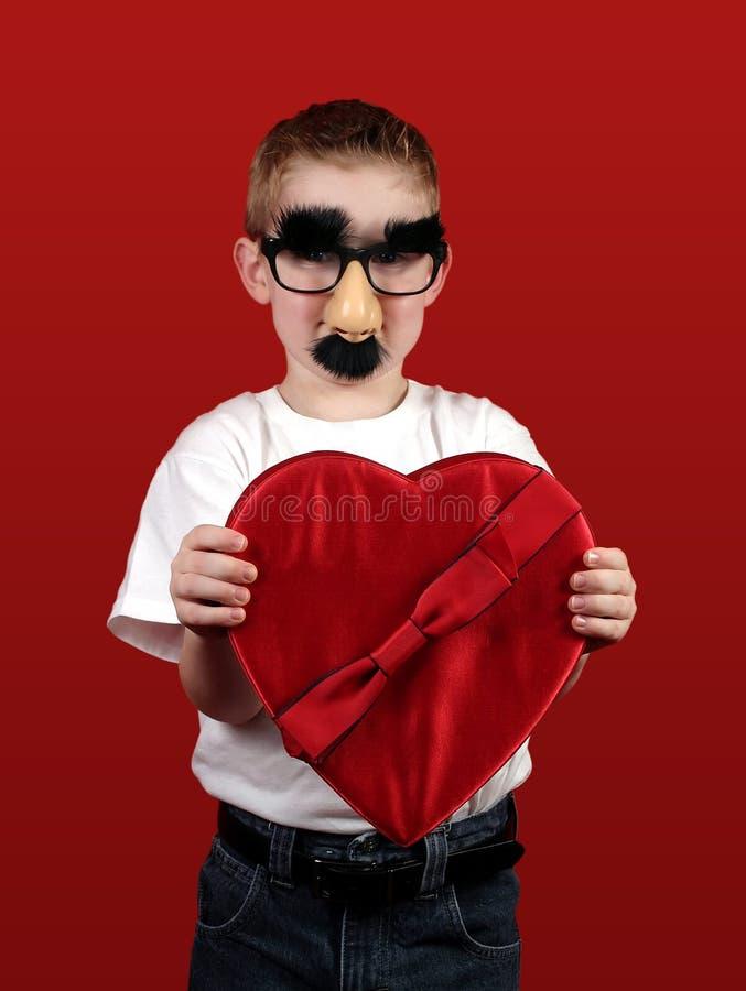 Mi tarjeta del día de San Valentín divertida imagen de archivo