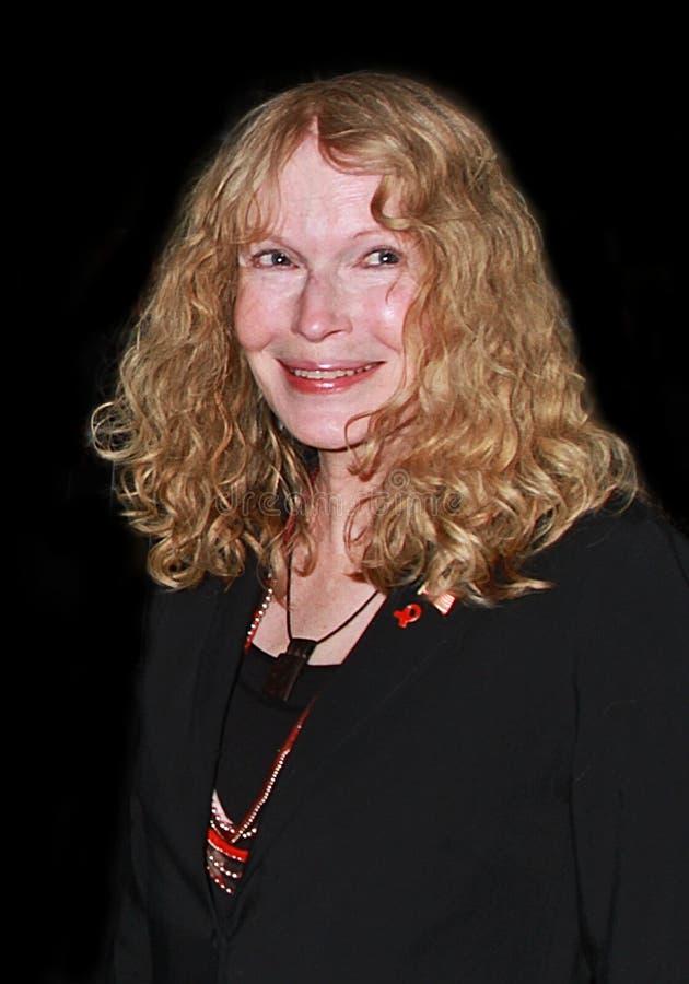 Mia Farrow arkivfoton
