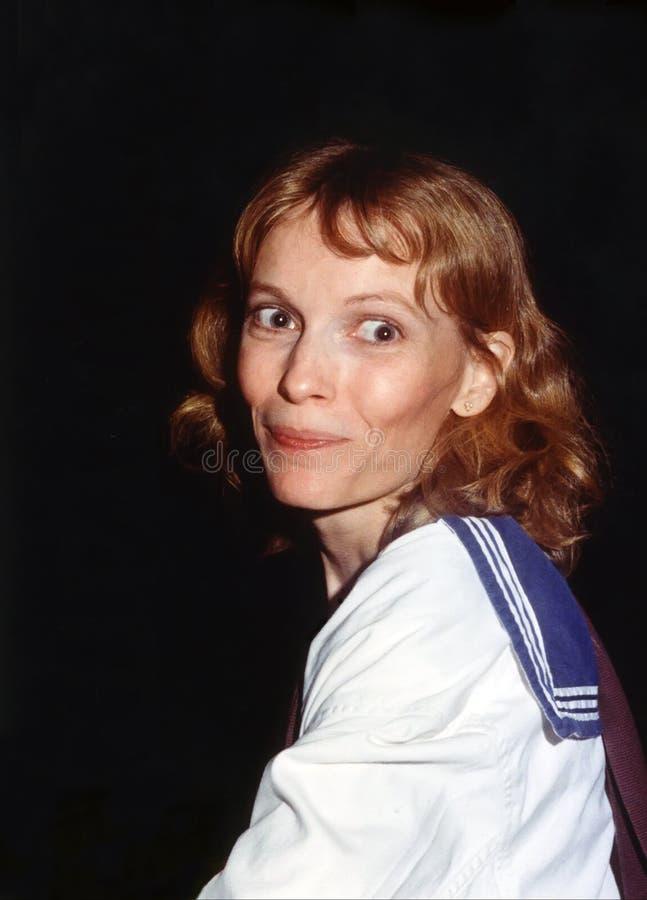 Mia Farrow fotografering för bildbyråer