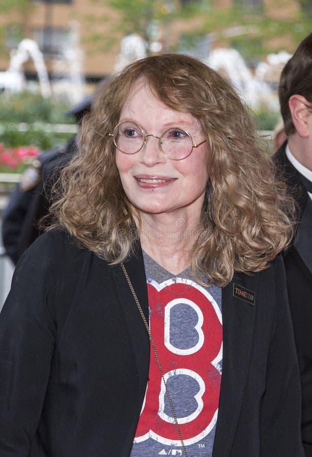 Mia Farrow photo libre de droits