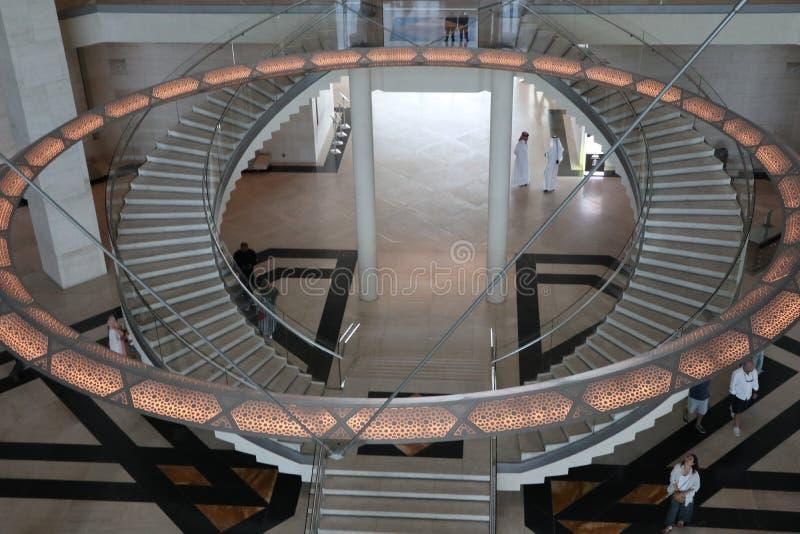 MIA - Museum av islamisk konst i Doha, Qatar arkivbilder