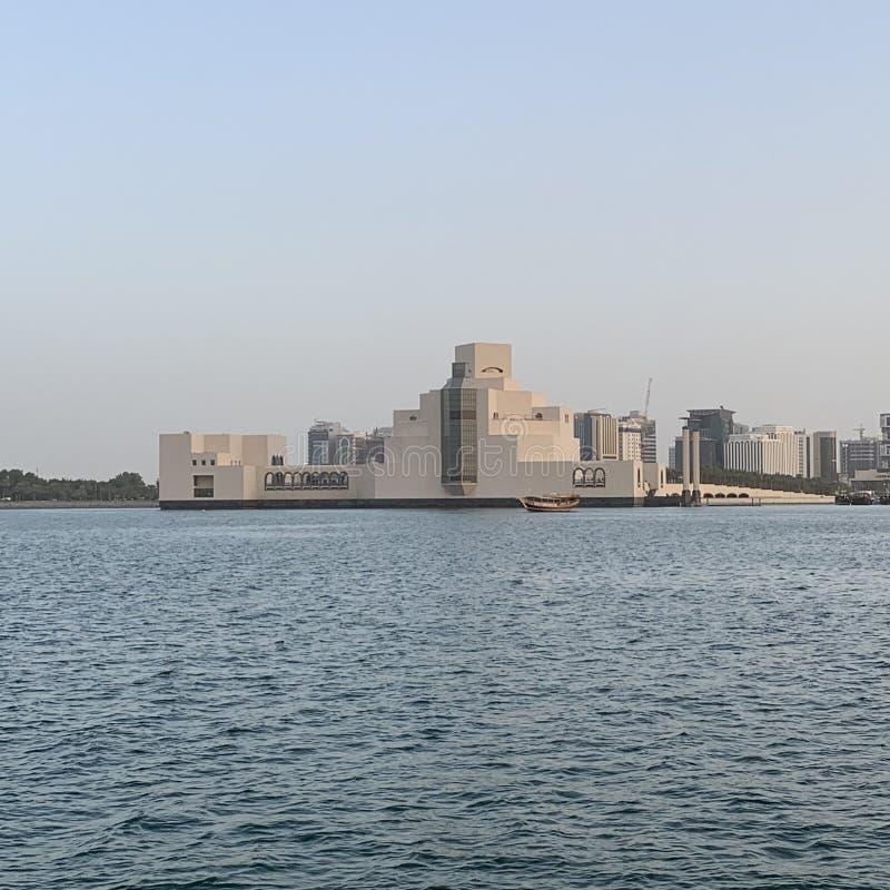 MIA - Museum av islamisk konst i Doha, Qatar arkivfoto