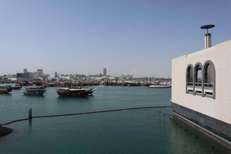 MIA - Museum der islamischen Kunst in Doha, Katar lizenzfreie stockbilder