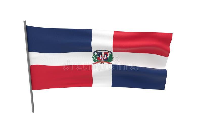 mia?o dominican republiki royalty ilustracja