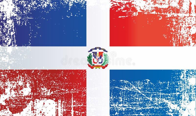 mia?o dominican republiki Marszczący brudni punkty royalty ilustracja