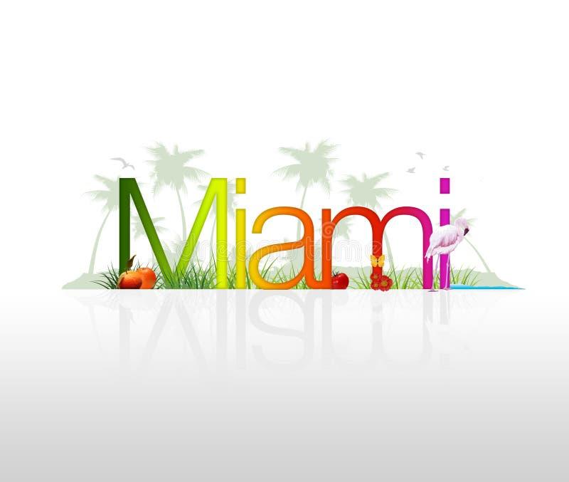 Miam- la Florida libre illustration