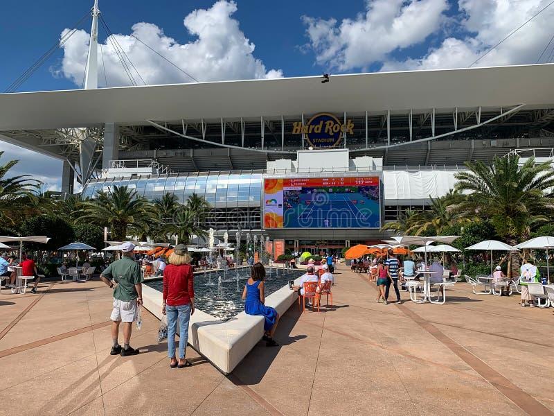 Miami öppen tennis royaltyfri foto
